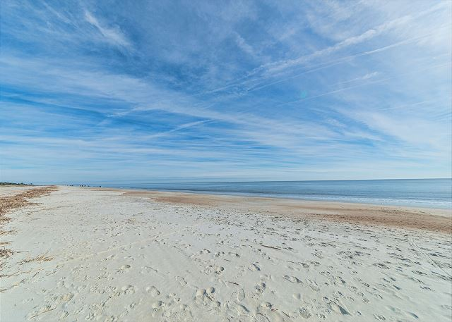Unspoiled and so lovely, the beach is unforgettable