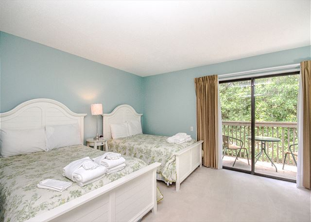 Water Oak 24, 2 BR, 3BA, Golf View, Large Pool, WiFi, Sleeps 8 - Additional bedrooms - HiltonHeadRentals.com