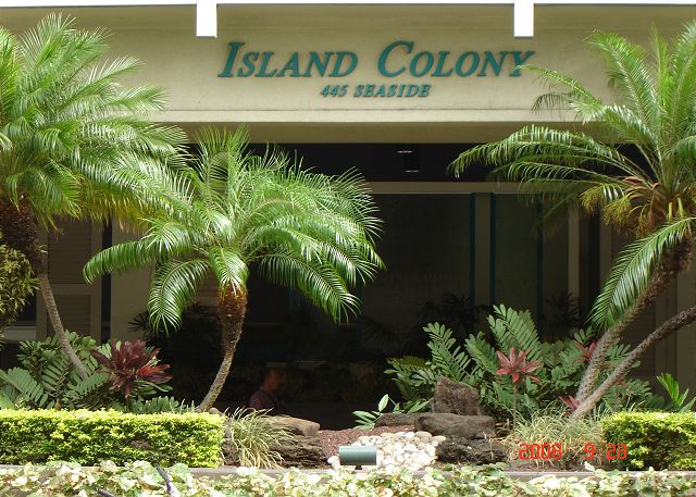 Greeted by the plush tropical landscaped Porte cochere and await
