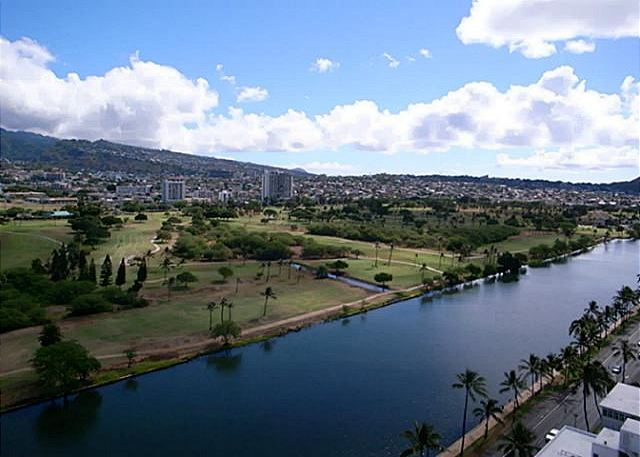View of the Ala Wai