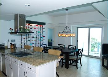 Cupecoy Condominium rental - Interior Photo - G2 kitchen and dining room