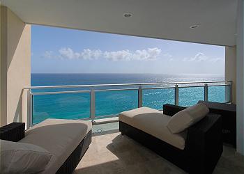 Cupecoy Condominium rental - Interior Photo - E5 balcony