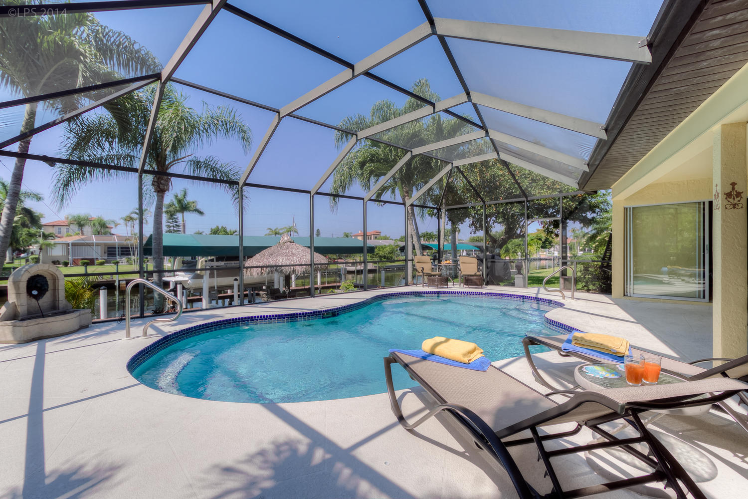 Villa sweet water villa sweet water cape coral fl for Florida pool homes