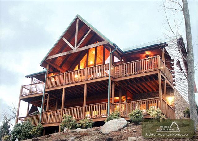 majestic point lodge 5 bedroom cabin rental in gatlinburg jackson