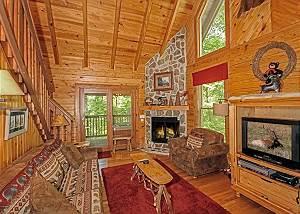 Buckhorn,  2 Bedrooms, Jetted Tub, WiFi, Fireplace, Hot Tub,  Sleeps 6