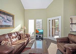 Gatlinburg Village 406,  3 Bedrooms, Fireplace, Pool Access,  Sleeps 8