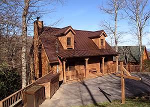 Cherokee, 1 Bedroom, Near Ober Gatlinburg, Hot Tub, Fireplace, Sleeps 4