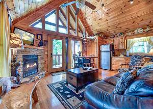 Artistic Mountain, 2 Bedrooms, Hot Tub, Mtn View, Jetted Tub, Sleeps 8