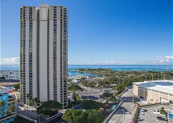 Ala Moana Hotel 1508 Studio Ocean View - 1K