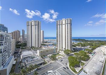 Ala Moana Hotelcondo 1616 Studio City/Ocean View - 1K