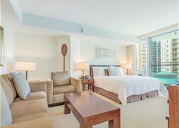 Trump Waikiki Hotel 0808 Superior Studio City View 1K/1S