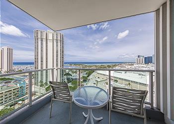 Ala Moana Hotel 1608 Studio Ocean View - 1K