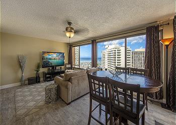 DISCOVERY BAY 1619 1BR/1BA/1PA MAGNIFICENT VIEW - 1K1S