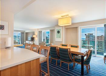 Ala Moana Hotel 3326 2br/2.5ba Royal Suite-1K2Q