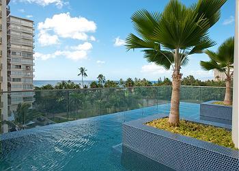 Trump Waikiki Hotel 2705 2br/3ba Ocean View