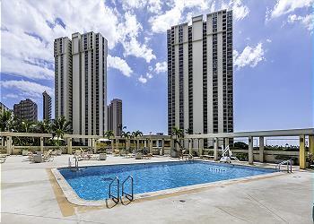 Ala Moana Hotel 3201 Studio Partial Ocean View - 2D