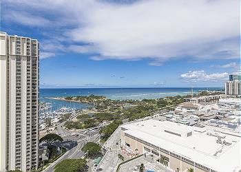 Ala Moana Hotel 2307 1Bdrm Ocean View - 1K1S