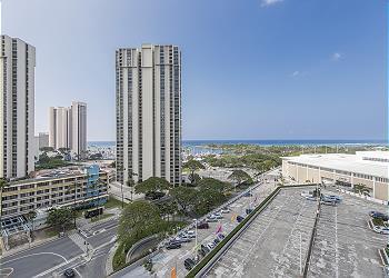 Ala Moana Hotel 1207 1 Bdrm Ocean View - 1K1S
