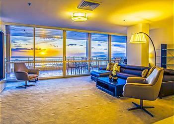 Ilikai 2602 3br/2ba Penthouse Ocean/Harbor View - 2K1Q2Twn