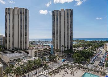 Ala Moana Hotel 1223 Studio Ocean View