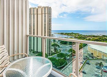 Ala Moana Hotel 1907 1Bdrm Ocean View - 1K1S
