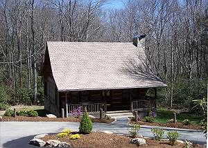 Mountain Brook Log Cabin