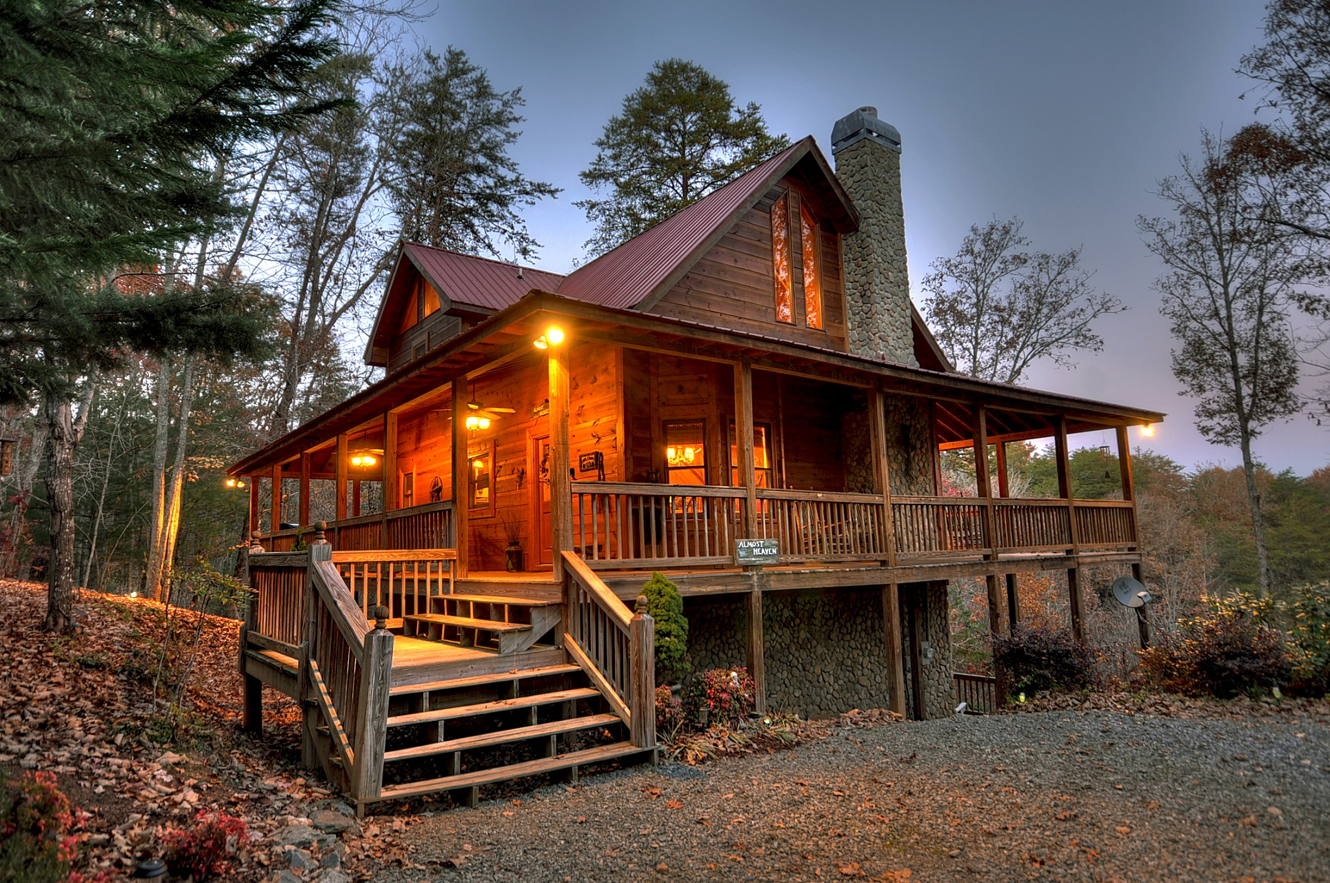 Almost Heaven - Base fee $179 | A Blue Ridge Vacation