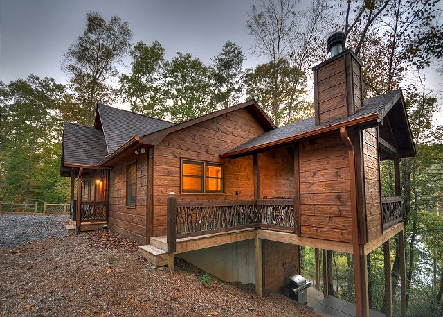 cabin rental blue ridge georgia