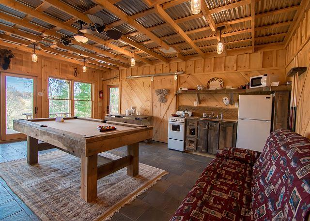 Bunkhouse Annex Amp Jail A Blue Ridge Vacation