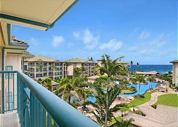 View Waipouli Beach Resort D402 A Kapaa Vacation Rental