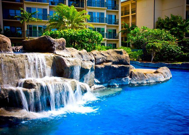 Incredible heated super pool