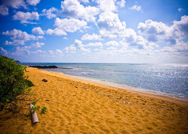 Quiet Waipouli Beach