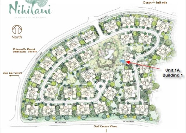 Nihilani Site Plan