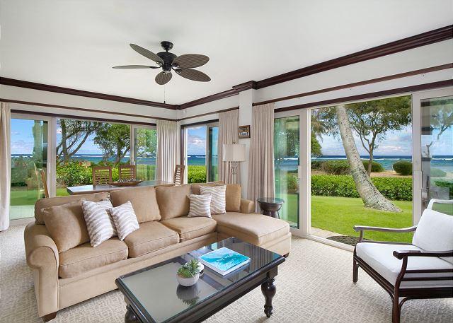 Waipouli A107  LARGE suite closest BEACH FRONT 40