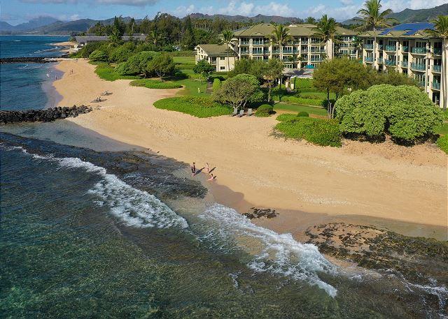 Waipouli A107  LARGE suite closest BEACH FRONT 50