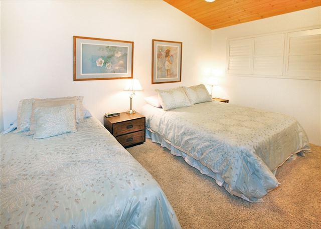 queen & twin bed