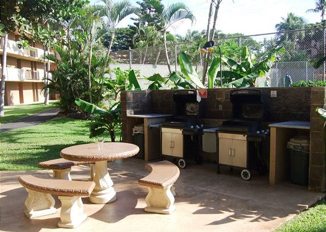 Gas Grills Cleaned Daily For Your Use