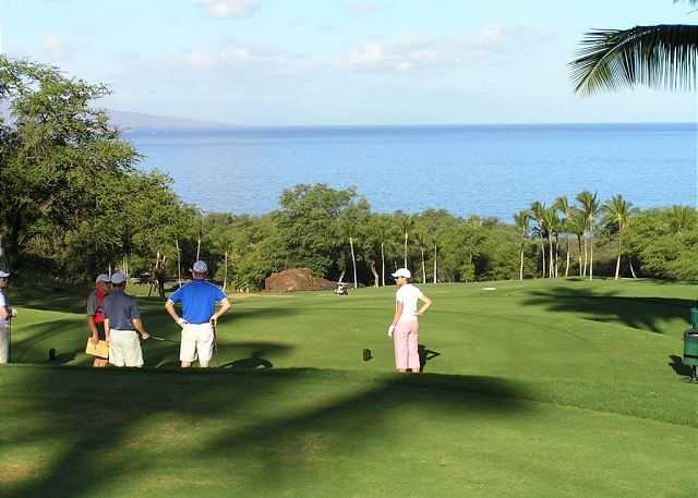 Golf is popular on Maui