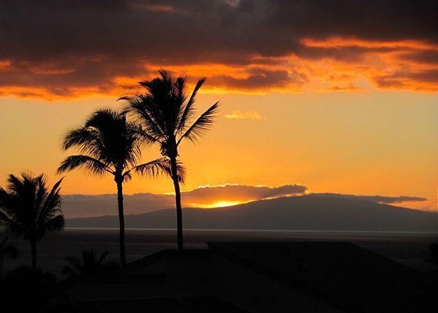 Gorgeous Sunsets From Wailea Ekolu #102