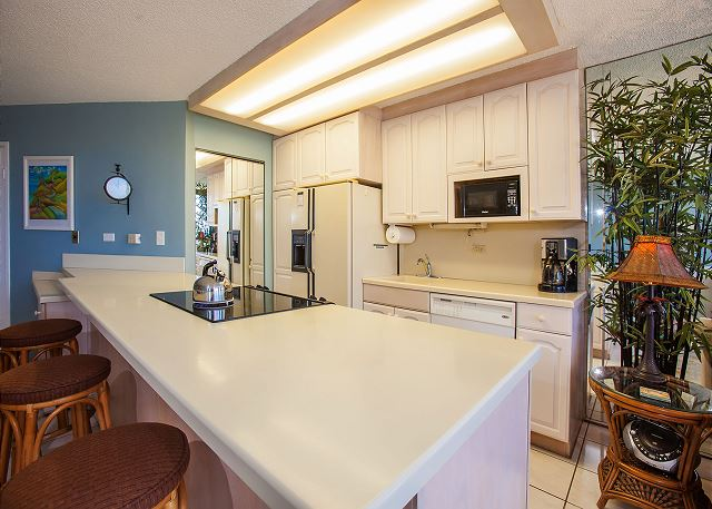 Maui Sunset A509 Fully Equipped Kitchen