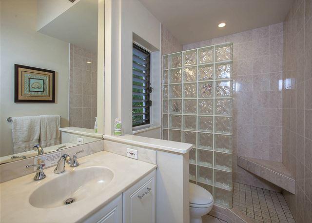 Wailea Ekolu #102 Master Bath Walk In Shower