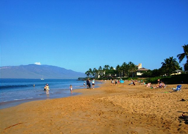 3 gorgeous Kamaole Beaches are just across from the Kihei Akahi