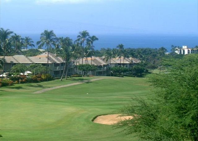 Wailea Golf Course a 3 minute drive from teh Palms