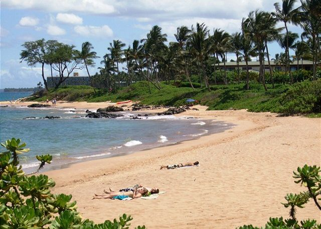 Mokapu and Ulua Beaches are just down the hill from The Grand Ch