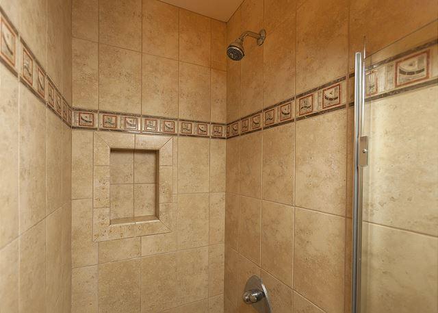 Wailea Ekolu #102 Guest Bathroom Walk In Shower