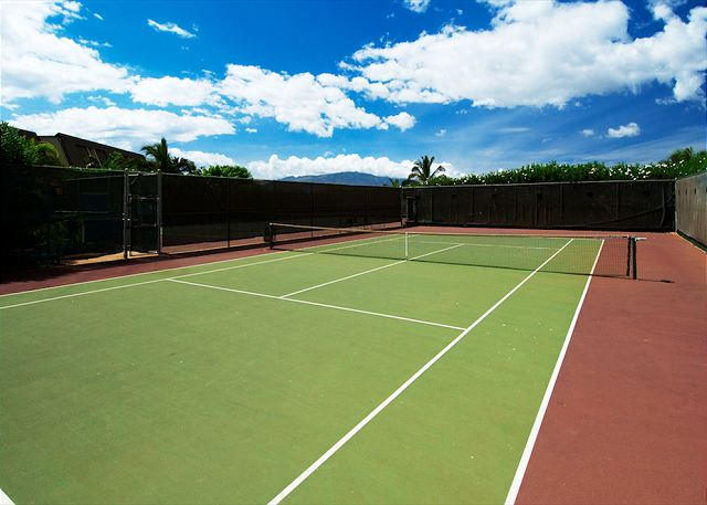 Maui Kamaole Unit Tennis Courts