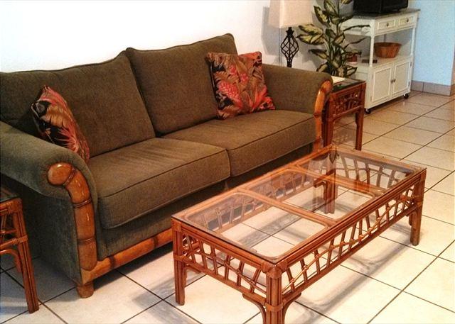 Queen Sofa Sleeper In Living Room