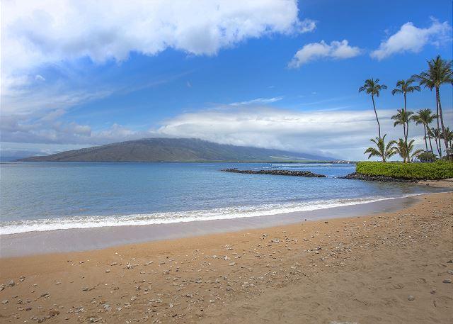 Koa Lagoon Resort is on the beach in South Kihei
