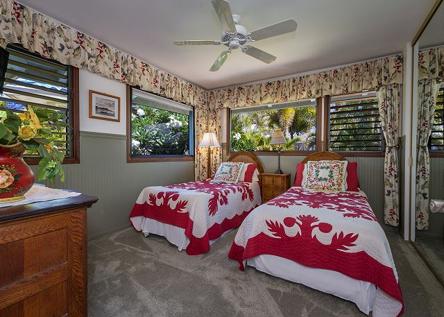 Hale Ili Ili C Guest Room As Twin Beds