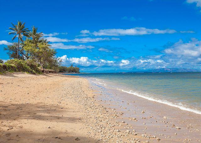 The beach at Luana Kai Resort